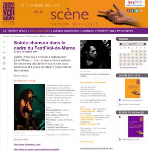 Théâtre d'Ivry 2011